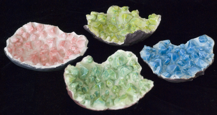 Colored Geodes